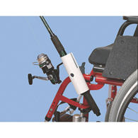 Ableware 706631000 Fishing Pole Holder for Wheelchairs