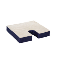 Essential Medical D4101 Fleece Gel Cushion w/ Coccyx Cut Out